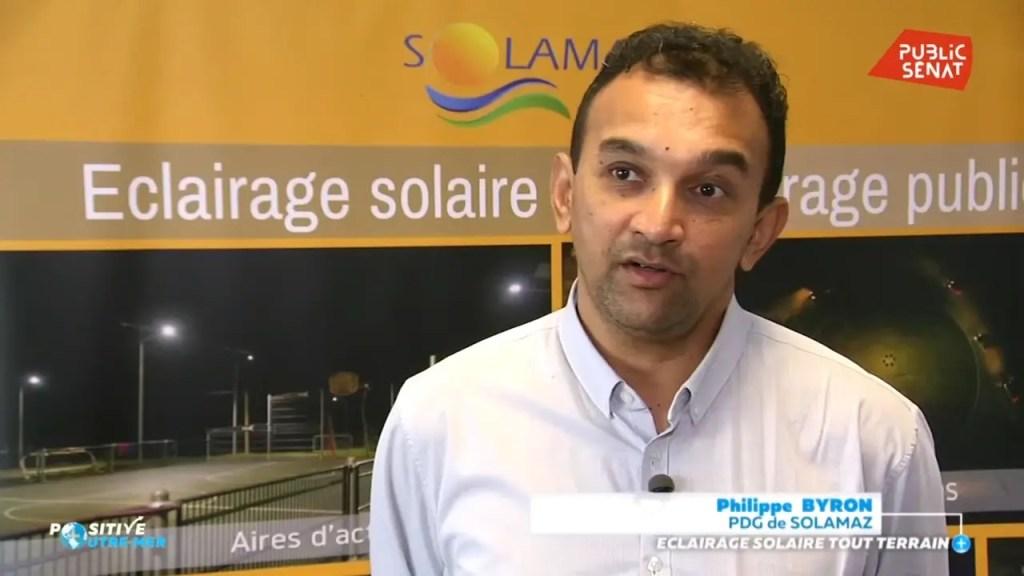 ITW Philippe BYRON, président de Solamaz
