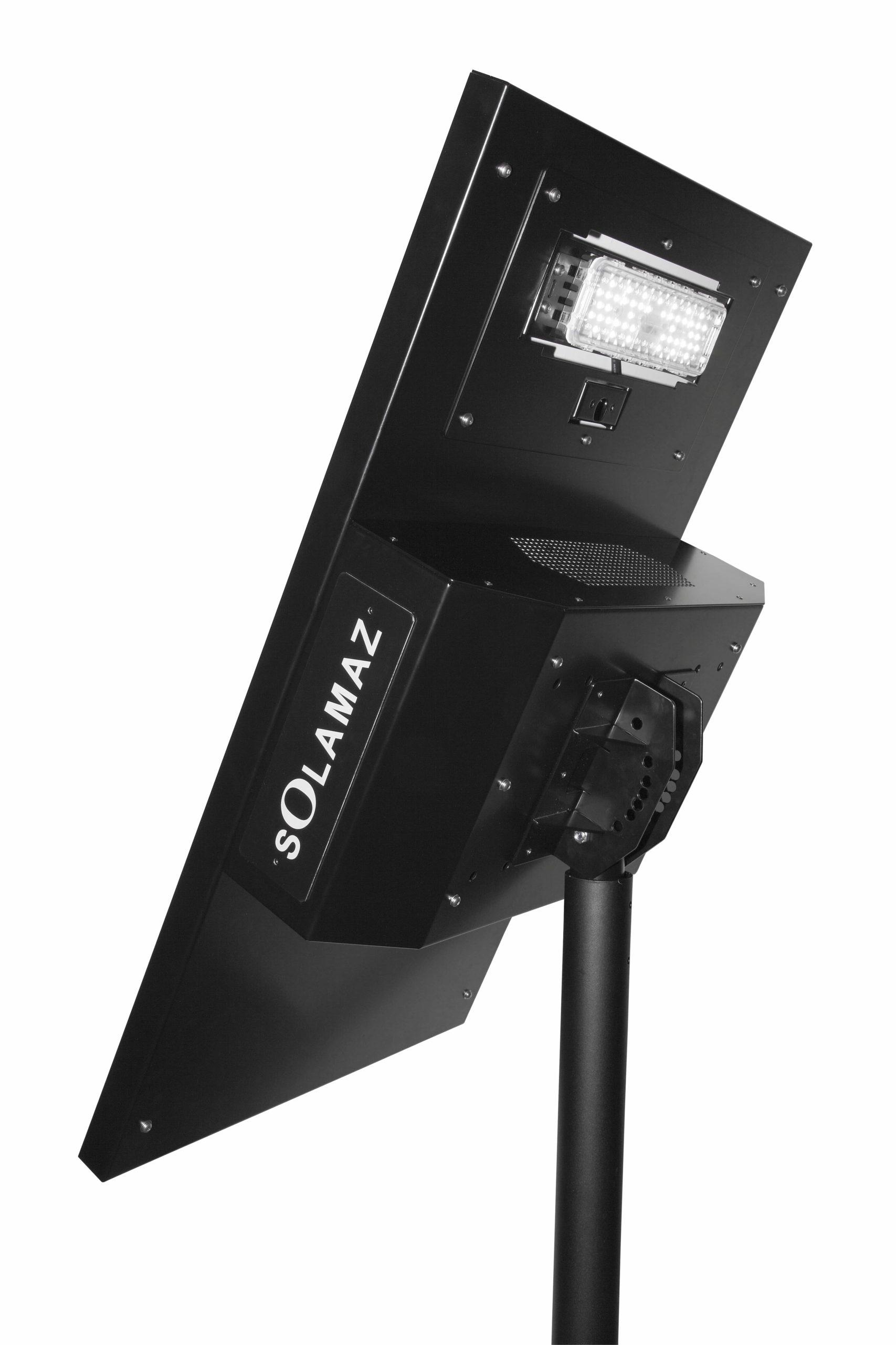 lampadaire solaire solamaz pour éclairage public